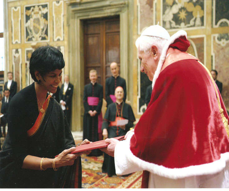 Credential -Holy See - Tamara Kunanayakam-1