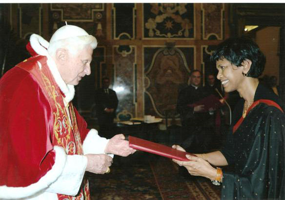 Credential -Holy See - Tamara Kunanayakam-2