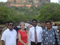 16 aug 2016 unesco dg visit sl