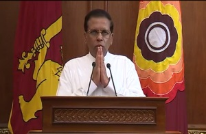 nation address pr sirisena 23april2015