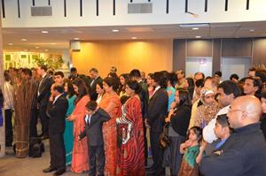 Sri Lankan Community at Independence Day Celebrations 2014