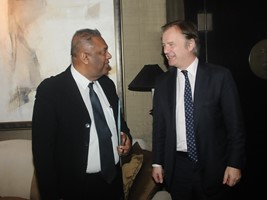 Hon Mangala Samaraweera and UK State Minister for Foreign -30jan2015
