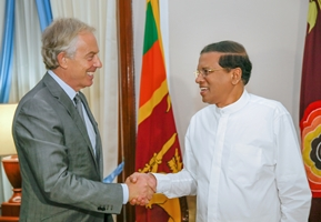 tony blair pr maithripala 24aug2015