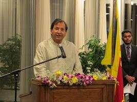 Statement made by Ambassador Aryasinha at Independence Day Celebrations 2014